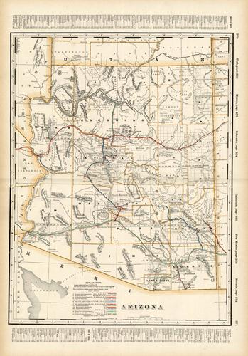 Arizona (Railroad Map)