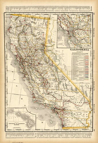 California (Railroad Map)