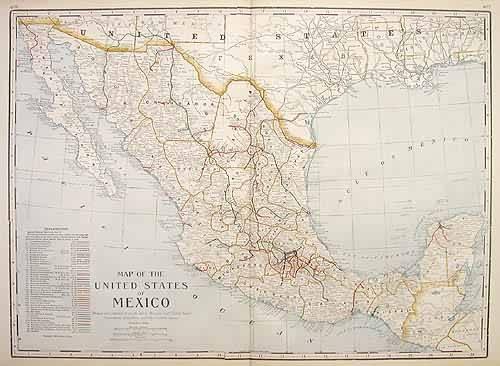 Mexico (Railroad Map)