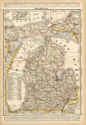 Michigan (Railroad Map)