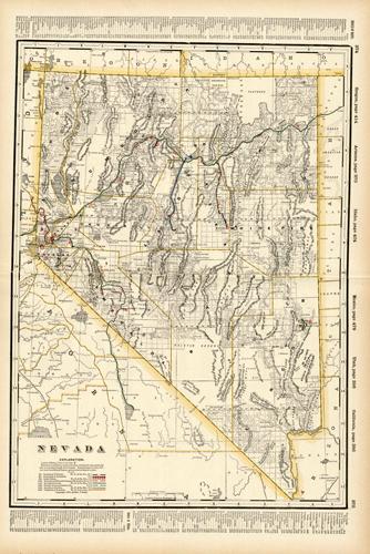Nevada (Railroad Map)