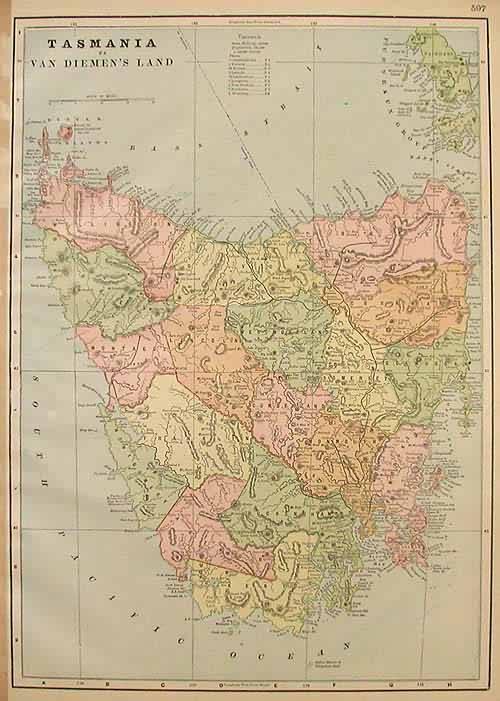 Tasmania - Van Diemens Land'
