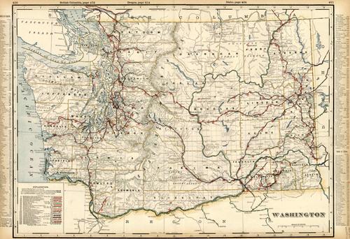 Washington (Railroad Map)