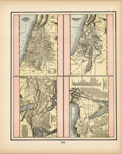 Canaan or the Land of Promise Illustrating the Books of Joshua & Judeas (et.al.)