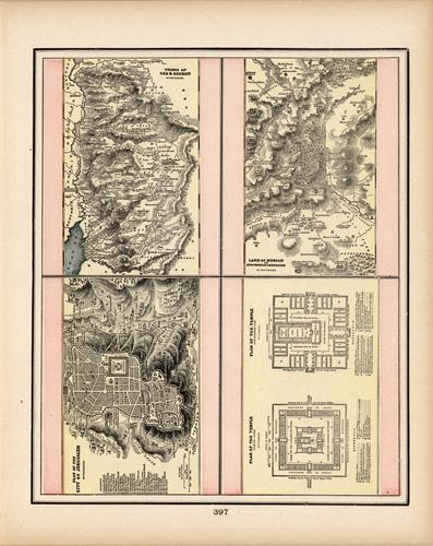 Plan of the City of Jerusalem (et. al.)
