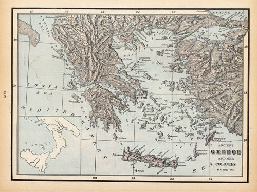 Ancient Greece and Her Colonies