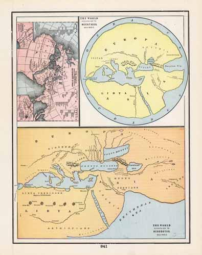 World according to Hecataeus and Herodotus