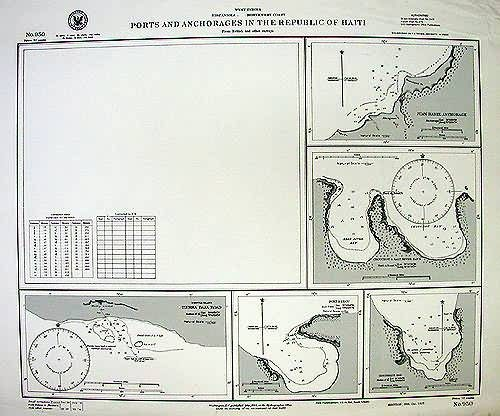 Ports and Anchorages in the Republic of Haiti