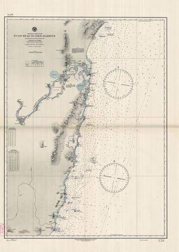 East Coast Australia Map Detailed.Australia East Coast Evans Head To Coffs Harbour