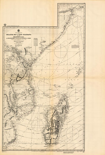 Africa (Somalia) - Delagoa Bay to Cape Guardafui - Including Mozambique  Channel and Madagascar I  with the off-lying Islands and Reefs