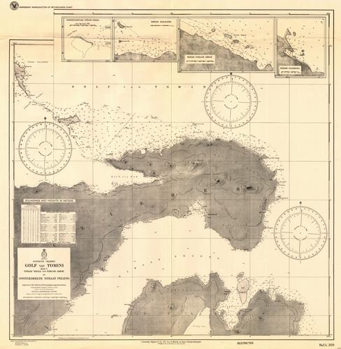Zuidkust Celebes Noordgedeelte der Golf van Boni - Baai van Laboeandata - Baai van Oesoe en Malili-Rivier - Ankerplaats voor de Wotoe-Rivier