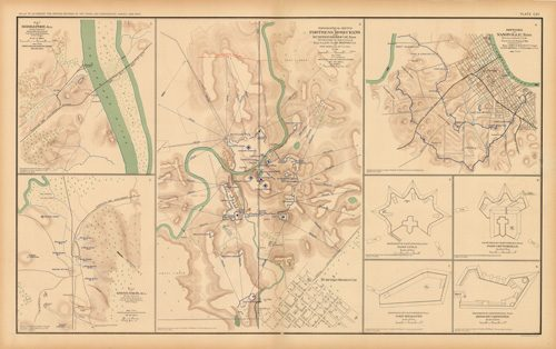 Civil War Atlas: Plate 112; Bridgeport