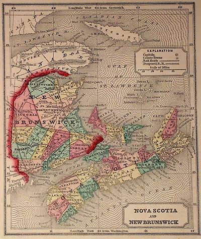 Nova Scotia & New Brunscwick