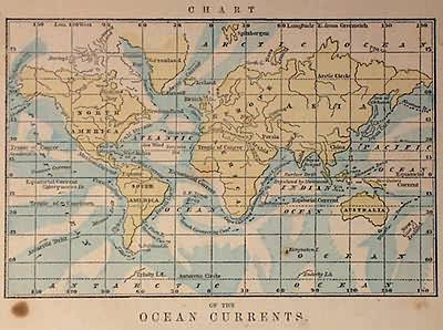Chart of Ocean Currents