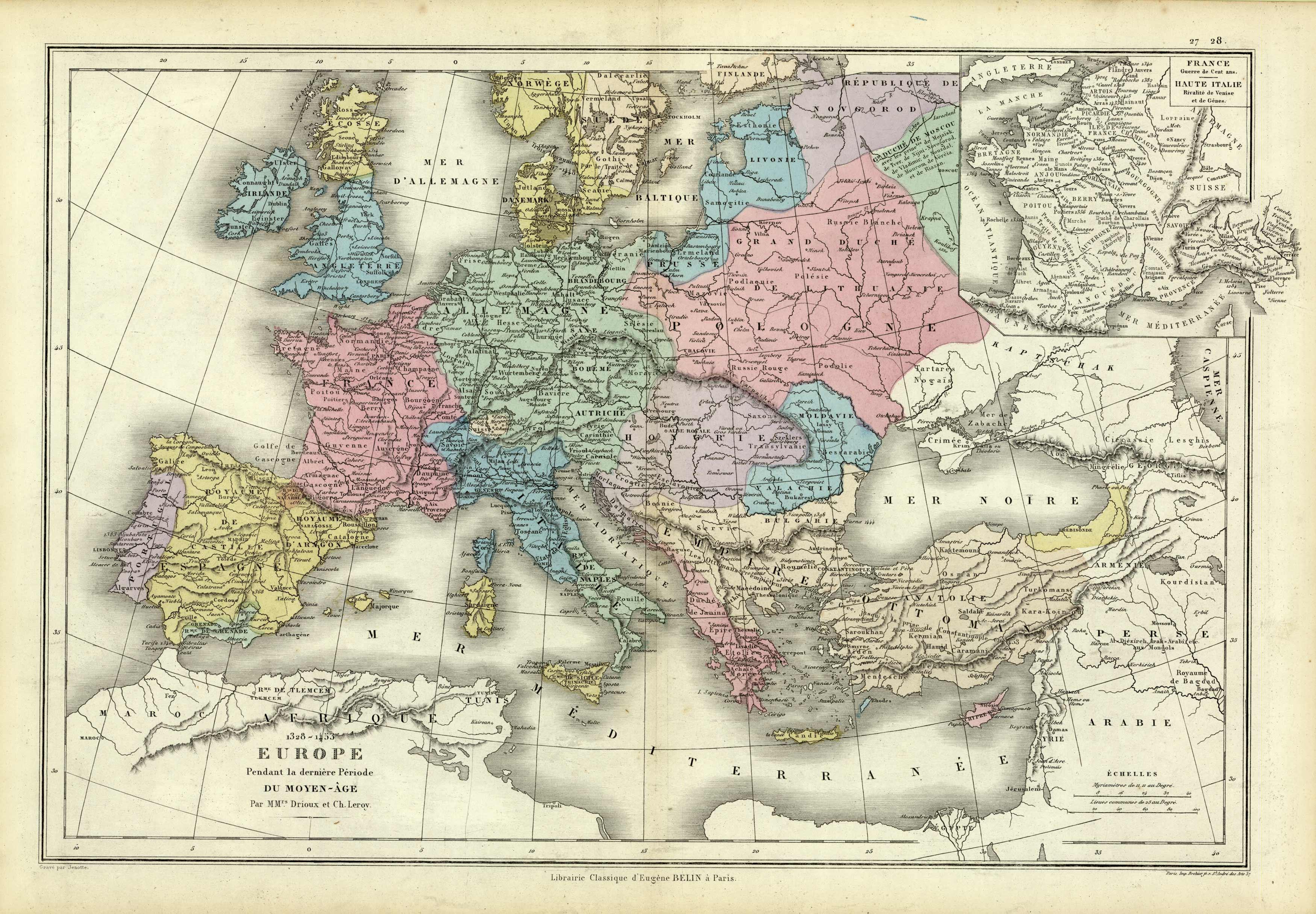 1328-1453 Europe du Moyan-Age
