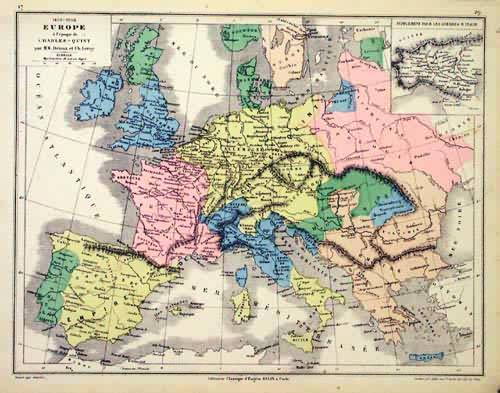 1453 - 1558 Europe a LEpoque de Charles - Quint (Europe During the Time of Charles - Quint)'