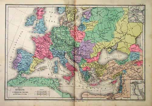 1095 - 1270 Europe A LEpoque des Croisades (Europe at the Time of the Crusades)'