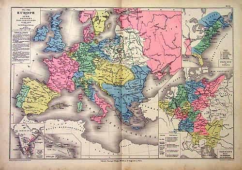 1715 - 1789 Europe