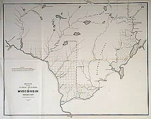 Sketch of The Public Surveys in Wisconsin Territory