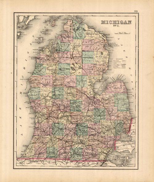 Michigan No. 1 (Lower)