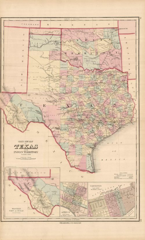 Texas and the Indian Territory