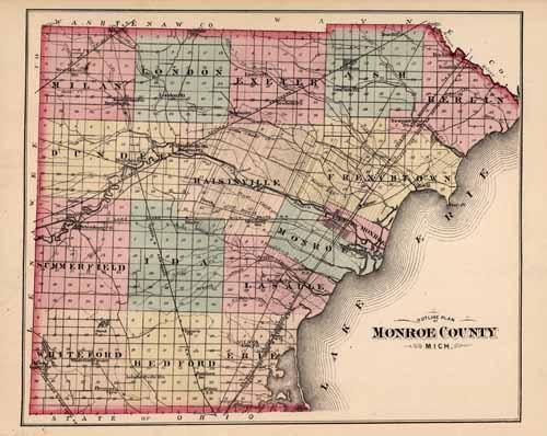 Outline Plan of Monroe County