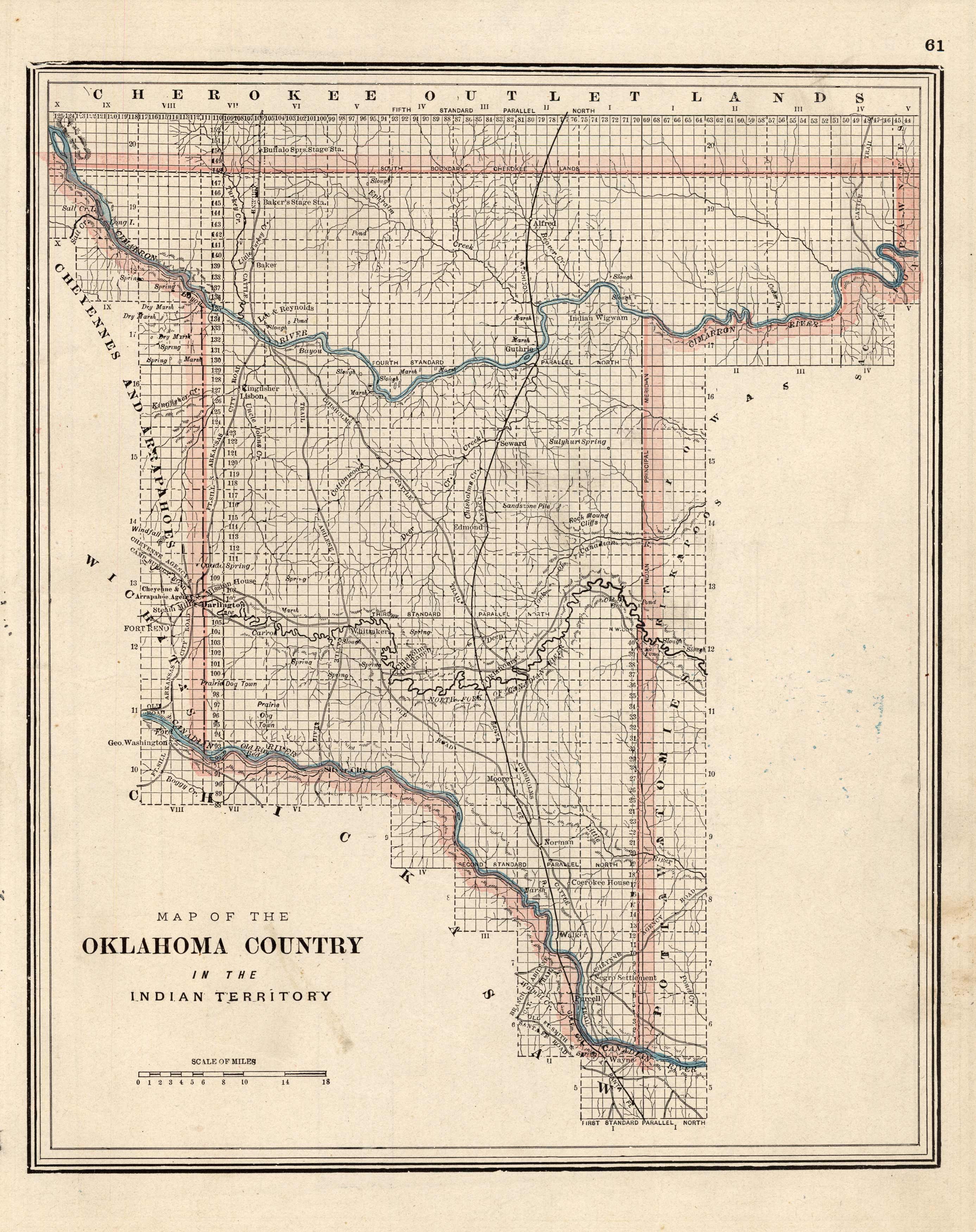 Oklahoma Country in the Indian Territory