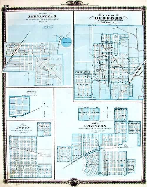 Plan of Shenandoah