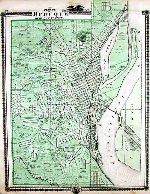 Plan of Dubuque