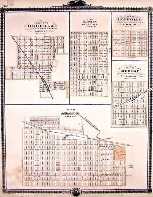 Plan of Osceola