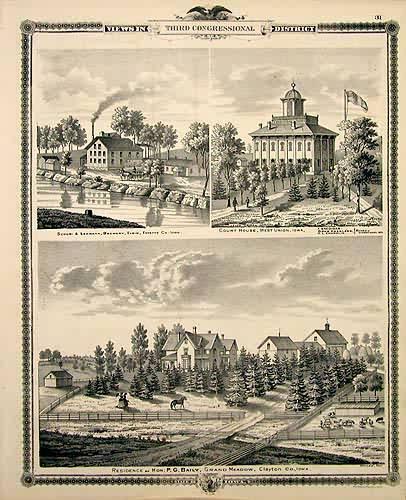 Views in Third Congressional District - Schori & Lehmann Brewery in Elgin