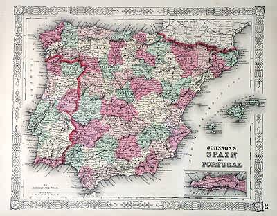 Johnsons Spain and Portugal'
