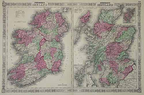 Johnsons Ireland / Johnson's Scotland'