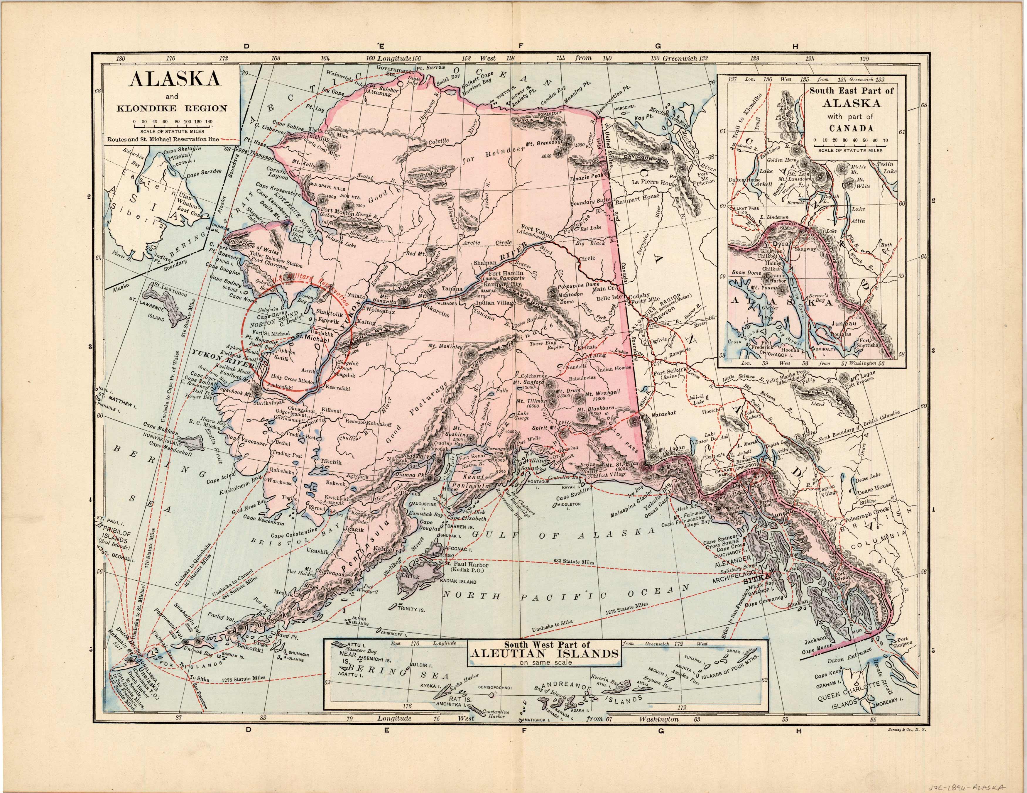 Alaska and Aleutian Islands