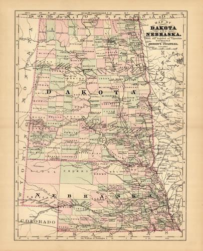 Dakota and Nebraska