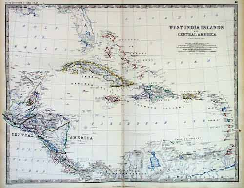 West India Islands and Central America