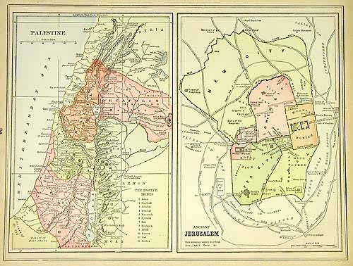 Palestine and Ancient Jerusalem
