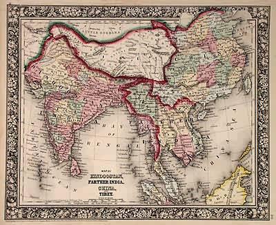 Map of Hindoostan
