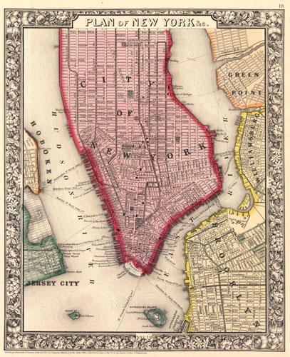 Plan of New York City