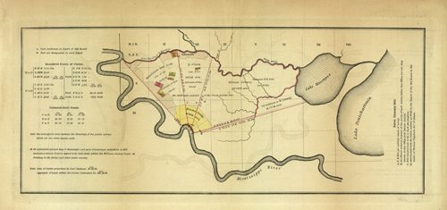 [Land Claims between Mississippi River