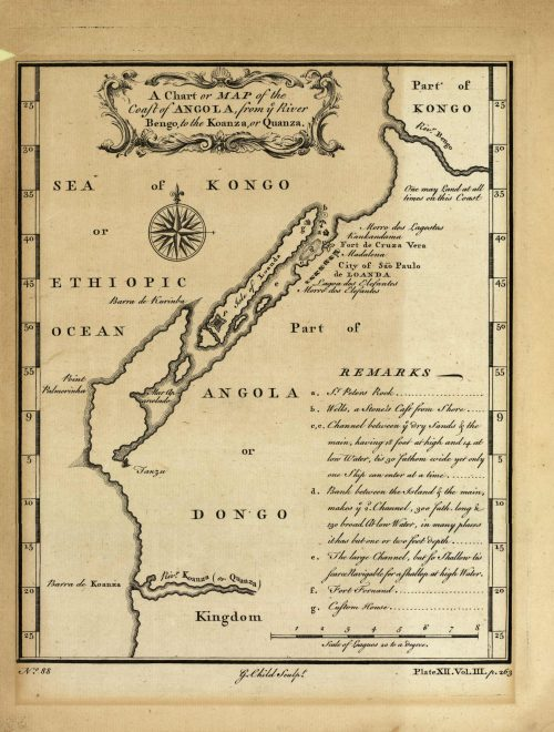 A Chart or Map of the Coast of Angola