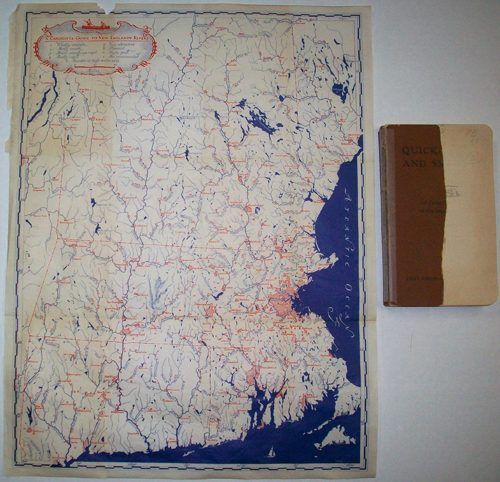 A Canoeists Guide to New England Rivers(map and book)'