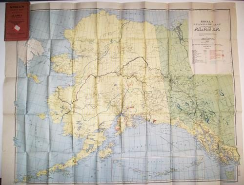 Krolls Pocket Map of Alaska & Yukon'