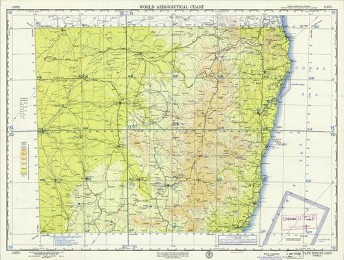World Aeronautical Chart - Cape Byron