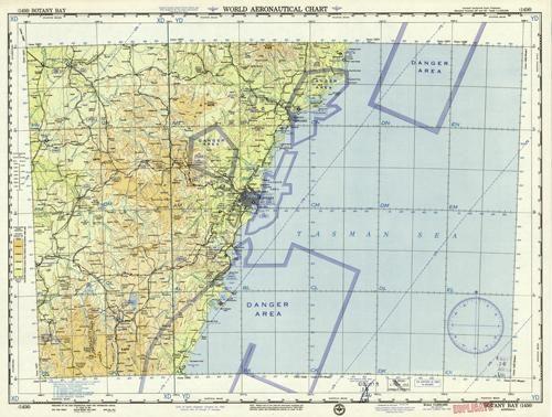 World Aeronautical Chart - Botany Bay