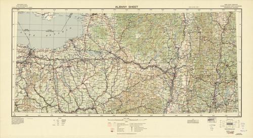 Albany Sheet - New York