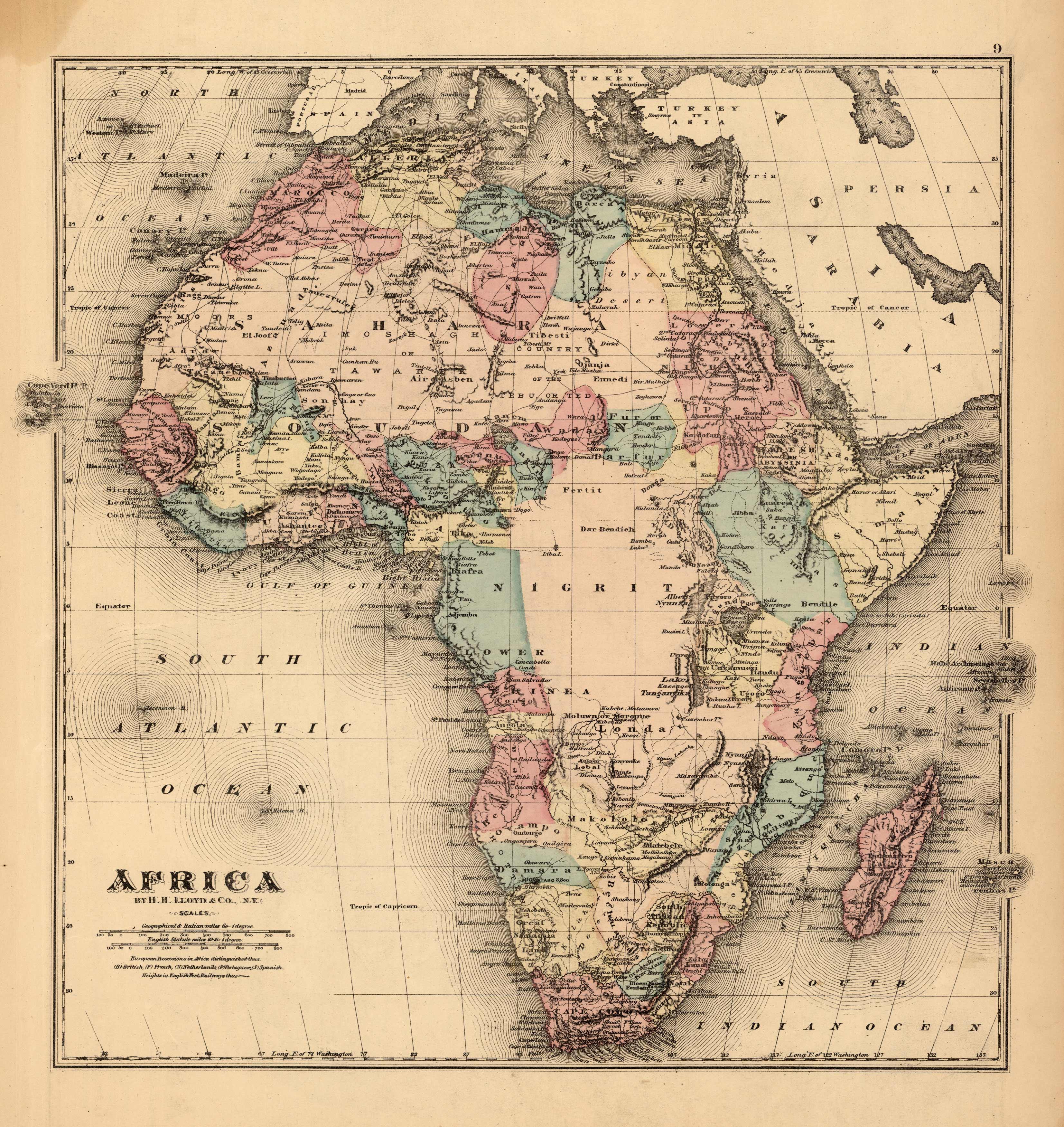 Africa by H.H. Lloyd & Co.