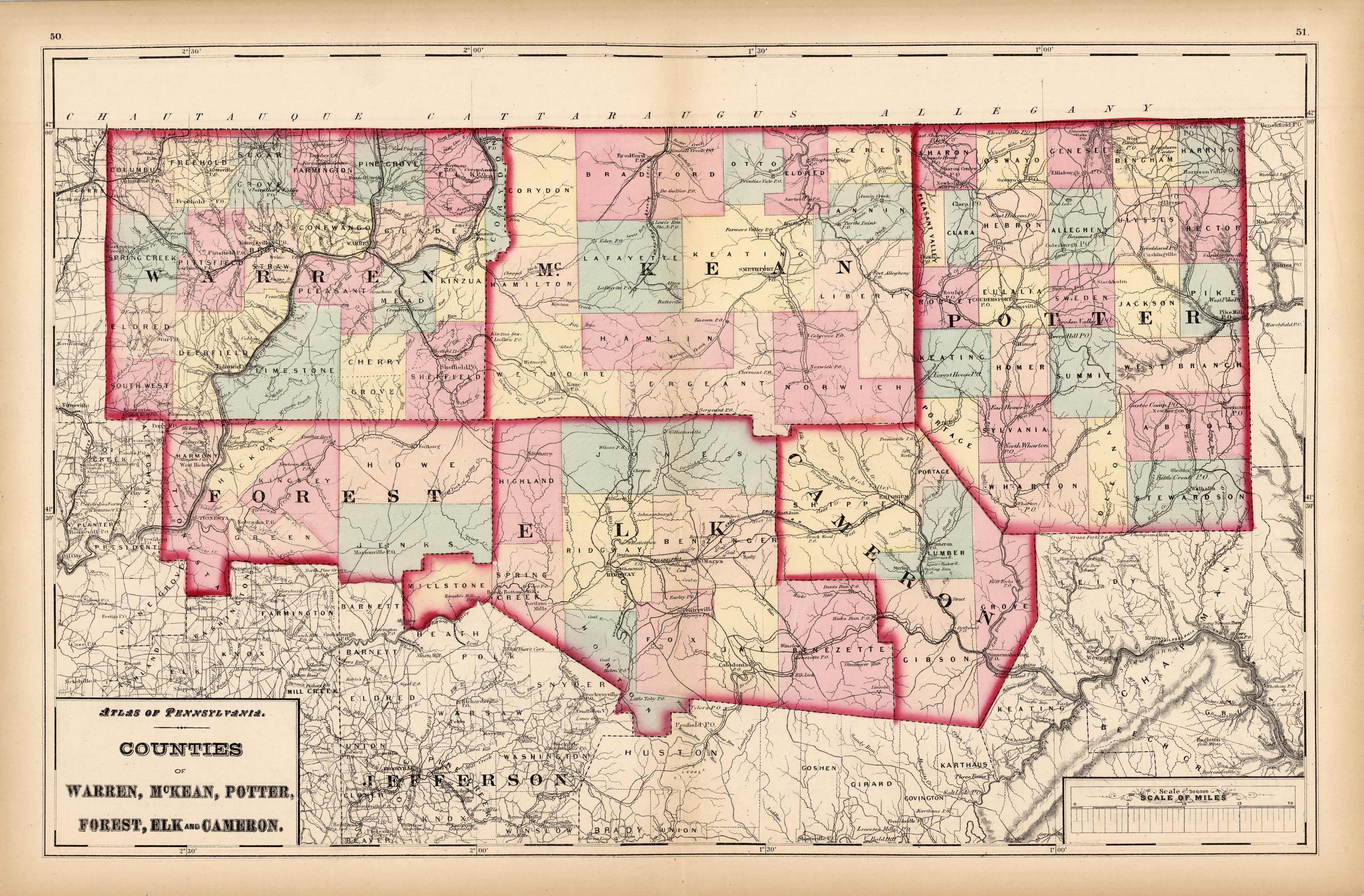 Counties of Warren