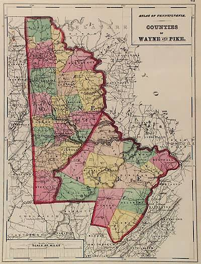 Counties of Wayne and Pike (Pennsylvania)