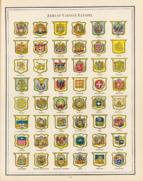 Arms of Various Nations